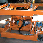 We manufacture tailored lifting tables.
